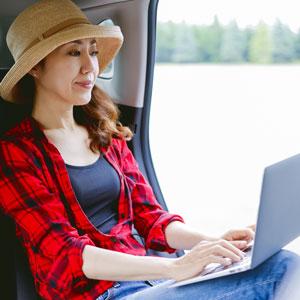 WiFi完備|開進交通のハイヤーが選ばれる理由
